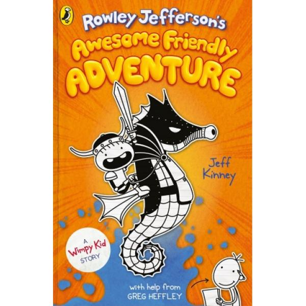 Youve never seen the Wimpy Kid World like this before - an entirely new awesome friendly truly fantastic fantasy quest from 1 international bestselling author Jeff KinneyFrom the imagination of Wimpy Kids Rowley Jefferson comes an adventure of epic proportions Join Roland and his best friend Garg the Barbarian as they leave the safety of their village and embark on a quest to save Rolands mum from the White Warlock Will our heroes survive Find out in