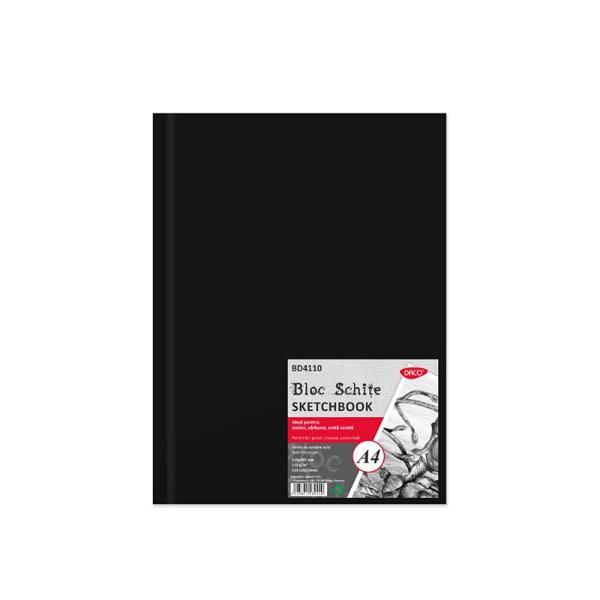 Bloc pentru schite 110 file110 gmp format A4Ideal pentru creion carbune creta cerata