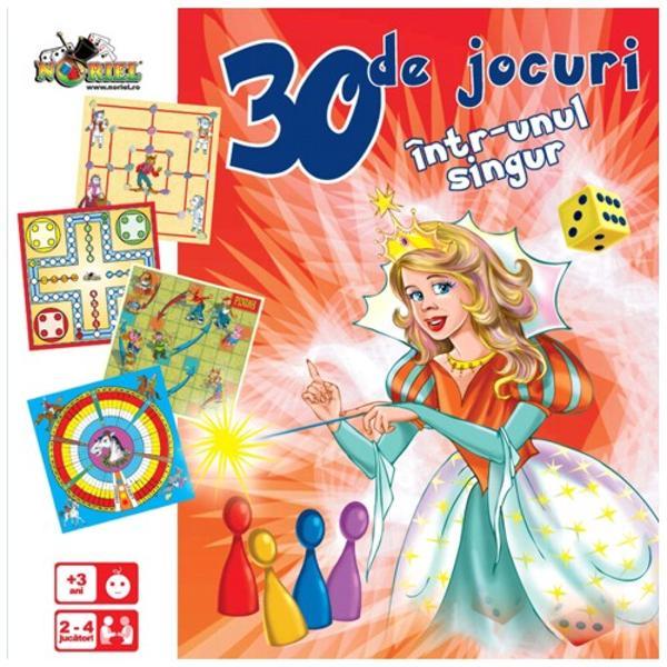 Puteti juca 35 de jocuri clasice distractive de la jocurile copilariei pe carton pana la cele mai sofisticate jocuri de carti sau zaruri De aceea poate fi considerat ca fiind un joc pentru toate varstele Produs recomandat copiilor cu varsta peste 3 ani