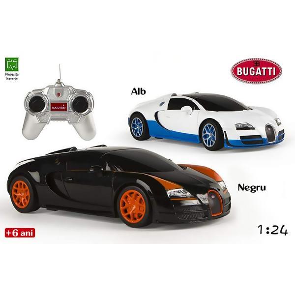 CB-Jucarie Masina Bugatti&160;Veyron 164Masina Bugatti Veyron 164&160;este o jucarie pentru baieti ce imita pana in cele mai mici detalii masina Bugatti Modelul elegant si aerodinamic confera unicitate jucariei printre jucariile de gen De greutate redusa aceasta poate aduce ore nelimitate de amuzament copiilor pasionati de vitezaDimensiune ambalaj&160;435x170x155 cmVarsta 6 ani