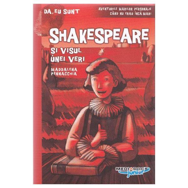 Cum au fost Shakespeare Leonardo da Vinci Marco Polo inainte de a se deveni celebri Ce faceau ei la 12 ani Aceste raspunsuri le veti gasi in cartile din colectia Da eu suntCombinand elemente biografice fapte istorice anecdote si fictiuneele reusesc sa prezinte copiilor intr-un mod atractiv felul in care traiau oamenii in trecutO INTALNIRE EXTRAORD1NARA PENTRU CEL MAI MARE GENIU TEATRAL AL TUTUROR TIMPURILORbr