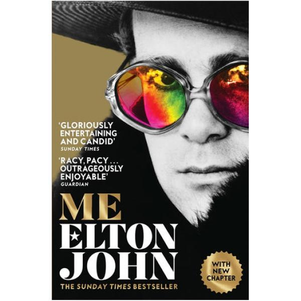 The Sunday Times bestseller with a new chapter bringing the story up to dateThe rock memoir of the decade – Daily MailThe rock stars gloriously entertaining and candid memoir is a gift to the reader – Sunday TimesIn his first and only official autobiography music icon Elton John reveals the truth about his extraordinary life Me is the joyously funny honest and moving story of the most enduringly successful singersongwriter of all