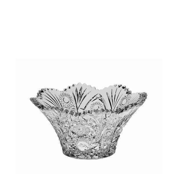 Bol din cristal de Bohemia contine 24PbO diametru 205 cm  fabricat in Cehia