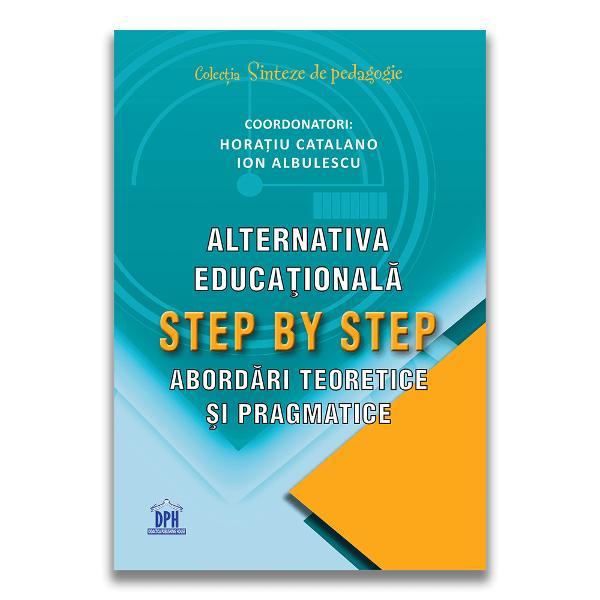 Alternativa Step by Step func&539;ioneaz&259; cu succes de peste un sfert de secol în sistemul românesc de înv&259;&539;&259;mânt Prin topica abordat&259; în acest volum punem în eviden&539;&259; caracteristicile procesuale &537;i metodologice specifice care pot fi adaptate &537;i promovate ca bune practici inclusiv în înv&259;&539;&259;mântul tradi&539;ional În modelul de instruire specific alternativei Step by Step