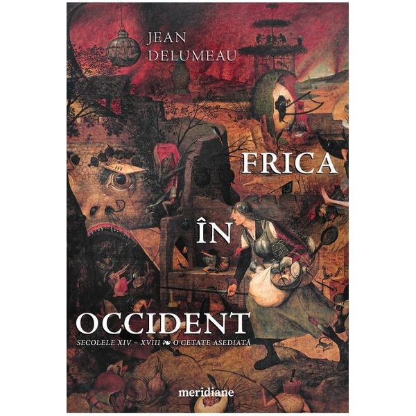 Frica în Occidenteste una dintre cele mai cunoscute lucr&259;ri ale istoricului Jean Delumeau ilustru reprezentant al valului de speciali&537;ti în istoria mentalit&259;&539;ilor pe care &536;coala francez&259; l-a produs Cu un vast câmp de observa&539;ie – istoric bineîn&539;eles dar &537;i economic sociologic psihanalitic psihologic &537;i antropologic – autorul creeaz&259; fresca unei Europe traumatizate de cium&259;