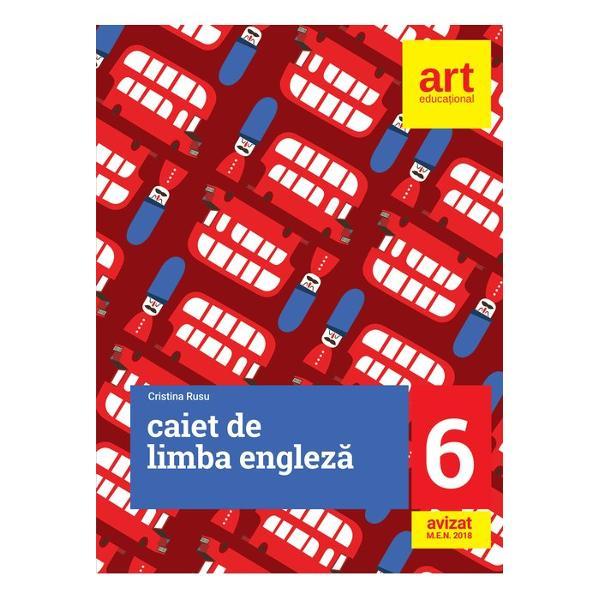 Caiet de limba engleza clasa a VI a