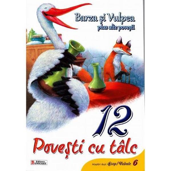 Barza si vulpea - 12 Povesti