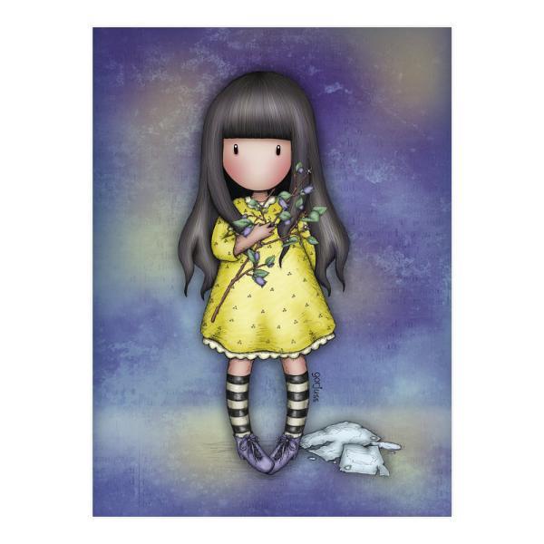 Felicitare Gorjuss HopeFelicitare Gorjuss Little Wings este un cadou absolut adorabil pentru persoanele dragi cu ocazia unei aniversari sarbatori sau chiar si si pentru alte ocazii Frumusetea aceste felicitari este data de cromatica si desing-ul extrem deelegant Hopeeste o micuta fetita Gorjuss ce doreste sa aduca speranta in viata ta Felicitarea este si mai frumoasa datorita detaliilor din slipiciIn nuante de albastru si galben aceasta