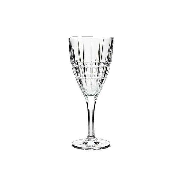 Set 6 pahare pentru Vin model Dover Fabricate din cel mai fin Cristal de Bohemia Volum pahar cca 250ml Continut plumb minim 24 PbO