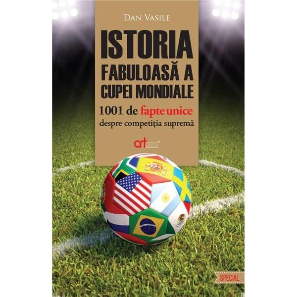 Odat&259; la patru ani cei mai buni fotbali&351;ti se adun&259; pentru a scrie pove&351;tile celui mai frumos sport din toate câte exist&259;De la Scarone la Pele de la Maradona la Hagi de la Zidane la Ronaldo aproape to&355;i corifeii balonului rotund au dansat pe gazoanele arse de soare ale Mondialelor mângâia&355;i de cântecele tribunei Un drum care a început în golful La Plata cu mai bine de opt decenii în urm&259;
