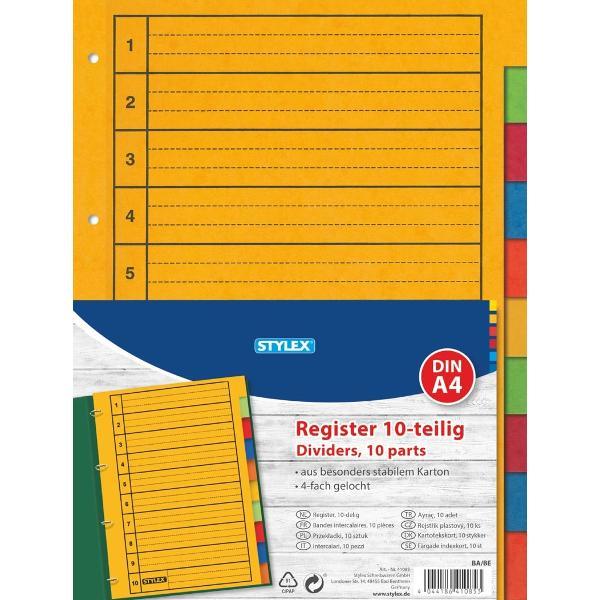 Separatoare tip index din carton pentru organizarea documentelor in biblioraft sau caiet mecanic Fiecare fila are aceeasi culoare pe intreaga suprafata si este prevazuta cu perforatii standard pentru indosarierep styleline-height 189pt; background white; box-sizing border-box; orphans auto; text-align