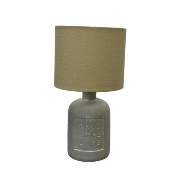 Alegerea veiozei potrivite nu a fost nicicand mai usoara cu designul ceramic care va imbina utilul cu placutul in orice colt al incaperii Veioza este potrivita pentru iluminatul intr-un salon sau dormitor modern sau traditionalDiametru 19 cmInaltime 37 cm