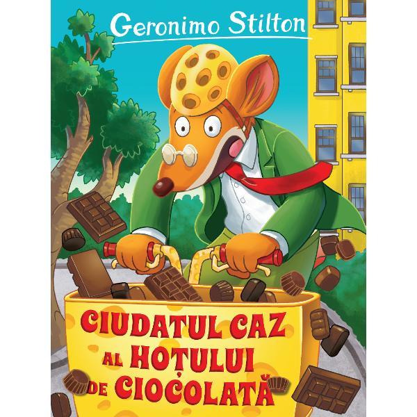 Ciudatul caz al ho&539;ului de ciocolat&259; aminte&537;te de prima zi de prim&259;var&259; din &536;oricezia un moment de s&259;rb&259;toare În aceast&259; zi are loc vân&259;toarea de comori pe str&259;zile ora&537;ului &537;i un concurs de cofet&259;rie pentru cel mai bun ou de ciocolat&259;V&259;rul lui Geronimo Capcan&259; vrea s&259; participe dar prin zon&259; se afl&259; &537;i celebrul ho&539; Umbr&259;