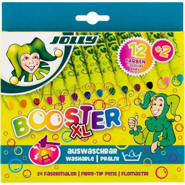 Carioci lavabile JOLLY BOOSTER-culori intenseIdeale pentru micii artistiVarful cariocilor este foarte rezistent oricat de mult ar fi apasatUrmele lasate pot fi indepartate prin spalarep stylecolor 000000;