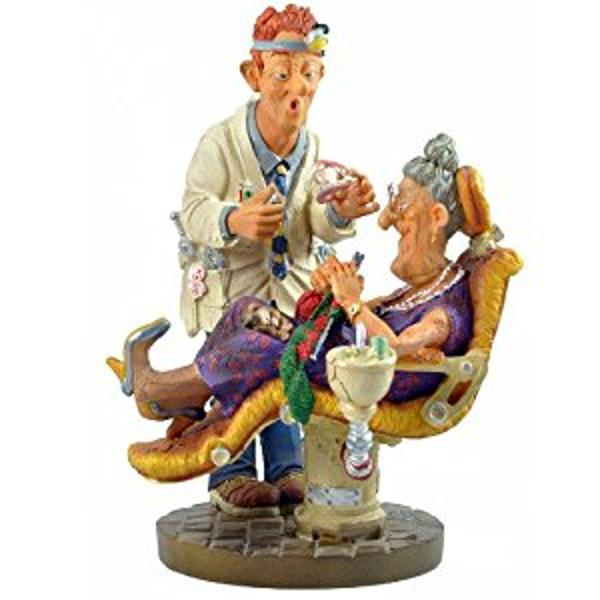 The Dentist Small Parastone Figurine PRO01    Part of the Highly Collectible Profisti Figurine Collections    li stylelist-style-type disc; list-style-image