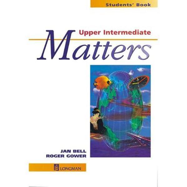 Matters Upper - Intermediate - manual cla XLiterature 2