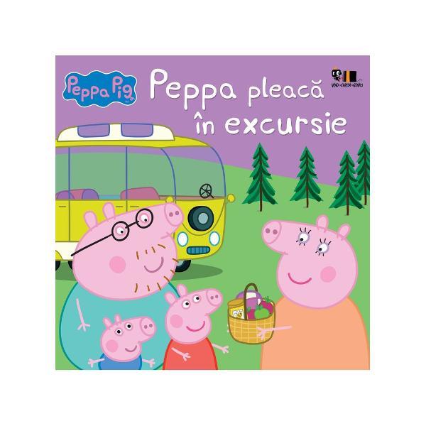 Carte bazat&259; pe serialul TV Peppa PigGroh Groh Peppa &537;i familia ei pleac&259; în excursie cu rulota Înso&539;e&537;te-i în c&259;l&259;toria lor într-o aventur&259; de neuitat