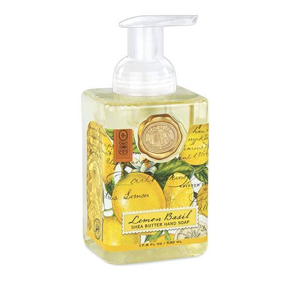 Sapun lichid spumaSapunul contine aloe vera si este imbogatit cu unt de sheaCatifeleaza si hidrateaza pieleaAroma lamaie si busuiocGramaj530 ml