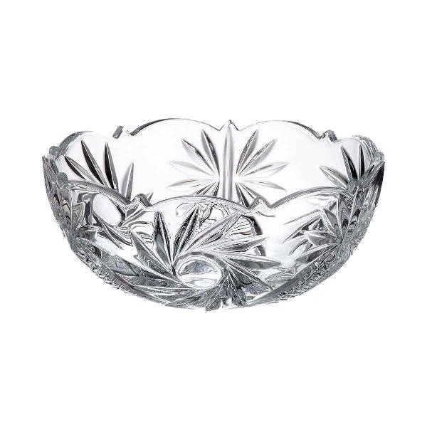 Set Boluri din sticla cristalina de la Bohemia Crystalite Circumferinta bol 135 cm Model Pinwheel