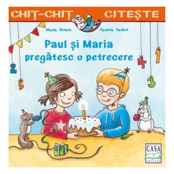 C&259;r&539;ile cu Paul &537;i Maria se recomand&259; copiilor 5 aniEste ziua lui Paul Împreun&259; cu cea mai bun&259; prieten&259; a sa MariaPaul coace un tort &537;i aranjeaz&259; masa festiv&259; În curând sosescoaspe&539;ii &537;i prietenii au parte de o petrecere grozav&259; cu jocuri desocietate Dar oare ce s-a ascuns în misteriosul pache&539;el primit dela AlbertÎn