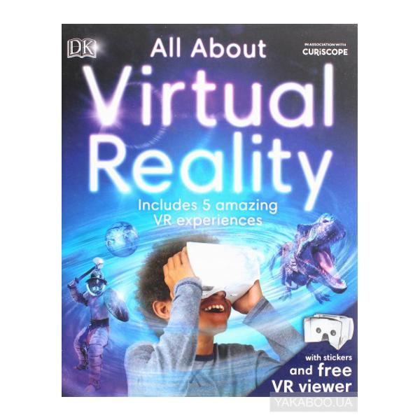 A childrens book that explores the realities of virtual reality explaining what VR is and how it works and even includes an app download for five exclusive VR experiences and a cardboard viewer with stickers to make it your ownLearn about the history of VR from how it was invented to how it is used in the world today—beyond smart phone apps—and how VR headsets play with your senses of sight sound and touch to fool you into thinking you are somewhere else Then use