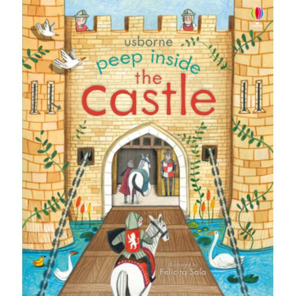 This simple non-fiction book for very young children is filled with facts about life in a castle Little children can lift the flaps and peep through the holes in the pages to explore various rooms what they were used for and who by