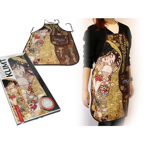 Sort Klimt Kiss 77x59cm 0236001