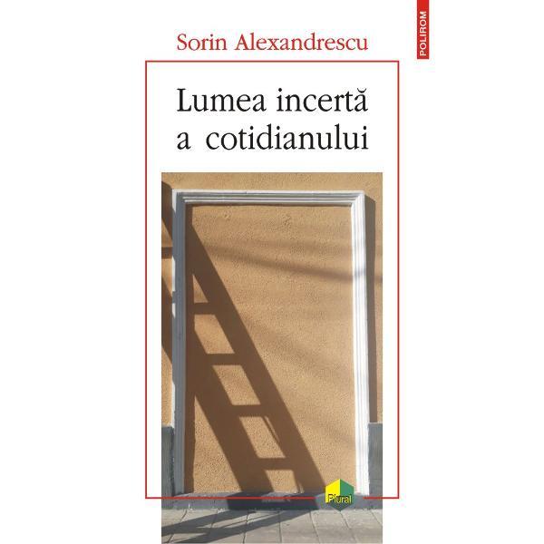 """Texte &351;i imagini române&351;ti""""Sorin Alexandrescu face parte din categoria acelor intelectuali pentru care nu exist&259; grani&539;e între domeniile spiritului Pasionat de idei &537;i de modul în care acestea ne modeleaz&259; existen&539;a e egal interesat de textul literar &537;i de cel vizual descifrîndu-le pe ambele drept documente semnificative ale condi&539;iei umane"""" Carmen Mu&537;at""""Ne întreb&259;m"""
