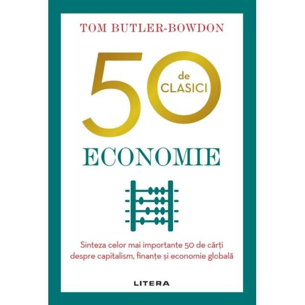 Economia conduce lumea modern&259; &537;i ne contureaz&259; via&539;a dar suntem pu&539;ini cei care sim&539;im c&259; avem timp s&259; ne ocup&259;m de diversitatea de idei reprezentate în acest domeniu50 de clasici – Economieeste ghidul perfect pentru dou&259; secole de discu&539;ii despre finan&539;e capitalism &537;i economie global&259;De la Adam Smith &537;iAvu&539;ia na&539;iunilorla bestsellerul lui