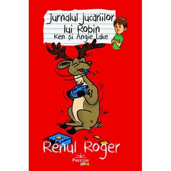 Cand Roger i-a spus lui Robin si bunicului sau povestea lui el a recunoscut ca avea probleme cu cititul asa ca nu s-a deranjat sa citeasca etichetele cu instructiuni Acest lucru i-a fost usor pana a plecat de-acasa dupa care a inceput necazul In urma unor probleme cu un rubarba urias s-a hotarat sa invete sa citeasca corect acest lucru plasandu-l intr-un loc fruntas de ingrijitor de reni