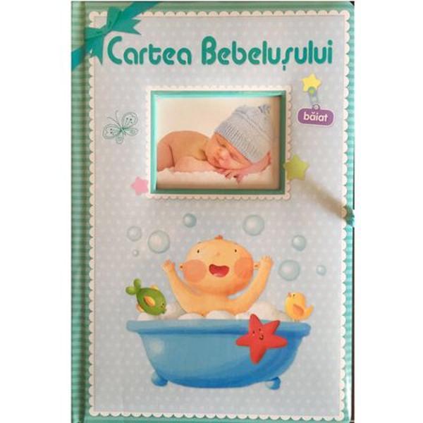 Cartea bebelusului - baiat