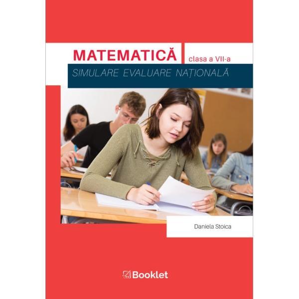 Matematic&259; Simulare – clasa a VII-ase adreseaz&259; atât elevilor de clasa a VII-a care se preg&259;tesc pentru simularea Evalu&259;rii Na&539;ionale cât &537;i profesorilor care pot folosi lucrarea ca un auxiliar eficient în evaluarea la clas&259;Lucrarea con&539;ine 20 de teste cu rezolv&259;ri alc&259;tuite în conformitate cu programa &537;colar&259; actual&259; &537;i cu noile modele de subiecte