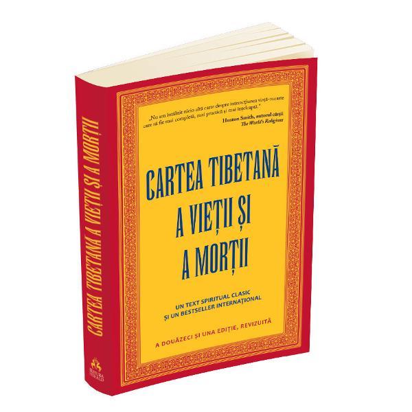 """""""In aceasta carte de actualitate Cartea tibetana a vietii si a mortii Sogyal Rinpoche se concentreaza asupra felului cum trebuie inteleasa adevarata semnificatie a vietii cum sa acceptam moartea si cum sa-i ajutam pe muribunzi si pe cei morti Moartea este o parte naturala a vietii cu care toti va trebui sa ne confruntam mai devreme sau mai tarziu Dupa parerea mea exista doua moduri in care o putem aborda cat timp suntem in viata Putem opta fie s-o ignoram fie sa infruntam"""