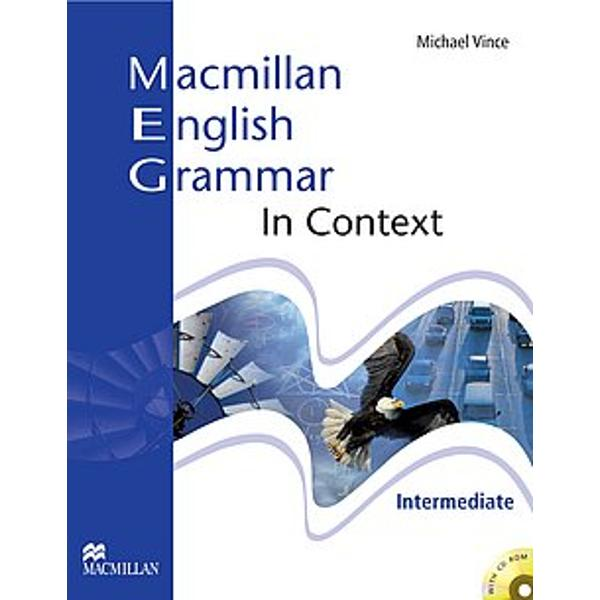 Macmillan English Grammar In context Intermediate with key  CD