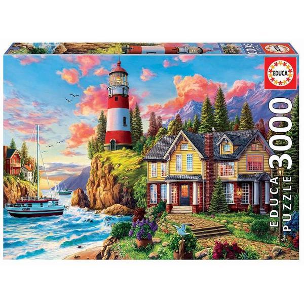 Un puzzle de calitate trebuie s&259; fie relaxant &537;i distractiv Aranjarea unui puzzle este o modalitate deosebit&259; de dezvoltare a îndemân&259;rii &537;i a spiritului de observa&539;iePuzzle-urile Educa sunt produse în Madrid Spania Au cutii de bun&259; calitate &537;i o selec&539;ie pl&259;cut&259; de imagini în special fantezie art&259; plastic&259; &537;i peisaje europeneDe asemenea