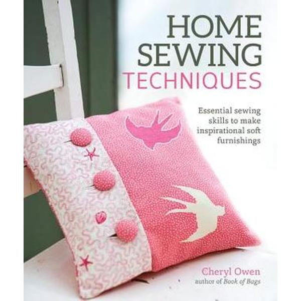 Beautifully styled this compendium of techniques will give the home sewer all the skills needed to make individual furnishing for their own home Each technique is explained step-by-step then applied to a range of pretty contemporary projects The early techniques are aimed at complete beginners and teach simple skills such as pinning cutting and making seams Later techniques introduce slightly more complex skills including hems curved seams casings borders linings and decorative