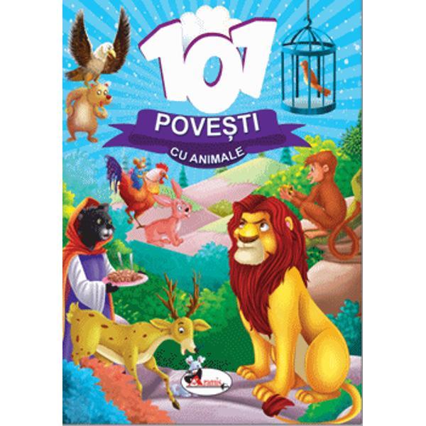 101 Pove&537;ti cu animale &238;i poart&259; pe cei mai mici dintre cititori &238;ntr-o aventur&259; fascinant&259; &238;n lumea gr&259;dinii zoologice &238;n care animale precum crocodilii ur&537;ii pe&537;tii lupii leii tigrii maimu&539;ele &537;i altele &238;i vor &238;nc&226;nta pe copii cu aventurile &537;i trucurile lor incitante Fiecare poveste este &539;esut&259; &238;ntr-un limbaj simplu &537;i &238;mpreun&259; cu ilustra&539;iile atractive