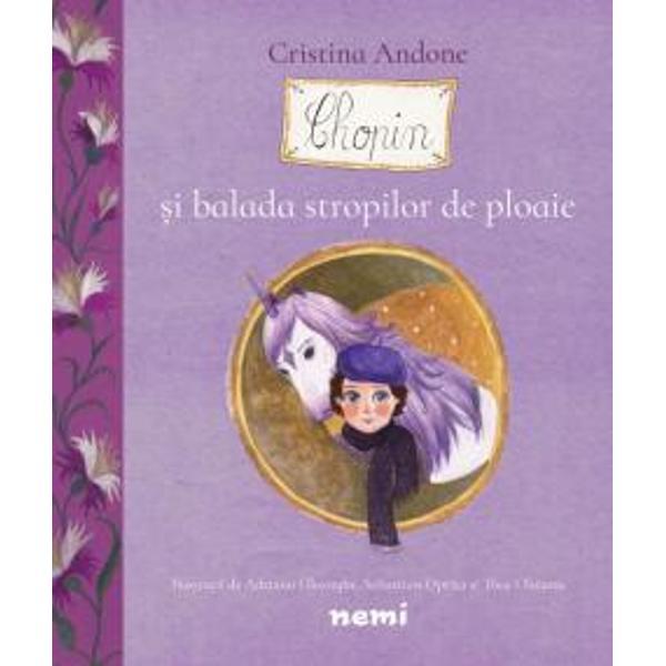 Spiridu&537;ul Chopin este cel mai proasp&259;t locuitor al P&259;durii Muzicale El este un spiridu&537; ludic dar &537;i u&537;or melancolic care viseaz&259; mai toat&259; ziua Chopin nu e doar marele compozitor &537;i pianist e &537;i personaj în poveste &537;i al&259;turi de Thea &537;i Sashi dar &537;i de c&259;lu&539;ul Vis ne face p&259;rta&537;i la toate lucrurile care îl inspir&259; din natur&259; sau din lumea din jurAceste