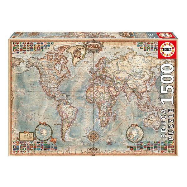 Num&259;r piese1500 bucVârsta12 aniinexistenta aniDimensiuni puzzle asamblat60 x 85 cmAlte men&355;iuni include lipici puzzle