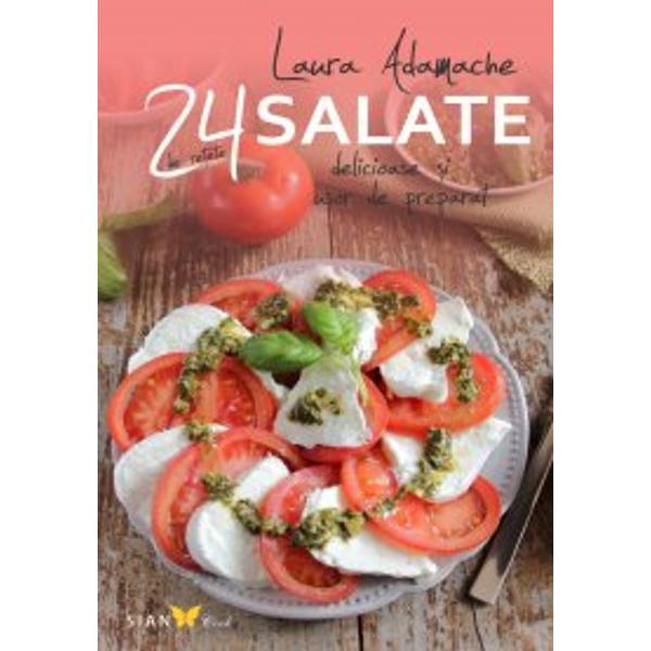 Odat&259; cu selec&355;ia re&355;etelor de salate f&259;cut&259; de Academia Barailla tr&259;i&355;i experien&355;a unui preparat bogat în arome culori texturi &351;i gusturi Cu intui&355;ie &351;i creativitate ingredientele alese pot transforma salata într-o s&259;rb&259;toare a sim&355;urilor În ce prive&351;te aromele salata este destul de simpl&259; Dar în ce prive&351;te prepararea ei trebuie s&259;
