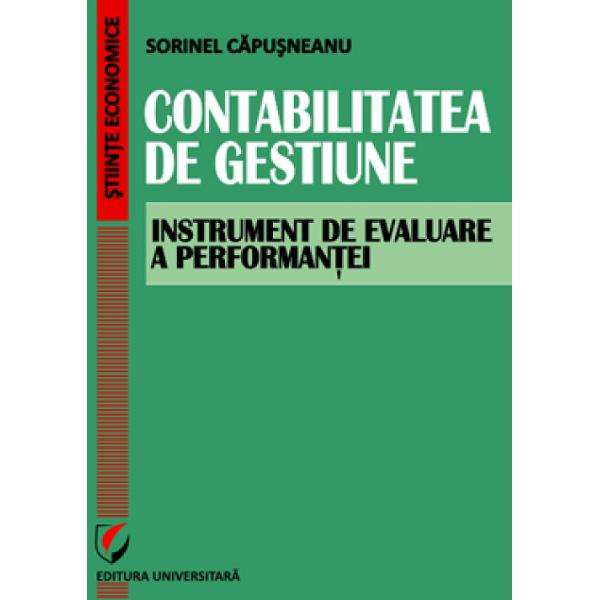Contabilitate de gestiune-instumente de evaluare a performantei