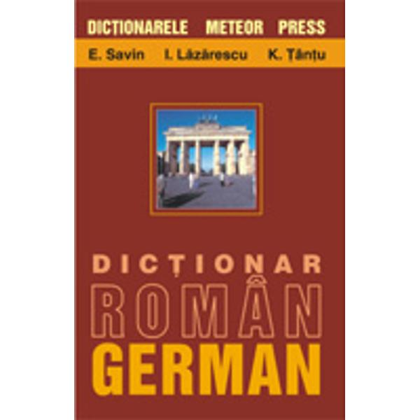 Dictionarul de fatase adreseaza unui public larg Seorienteaza in special spre un vocabular actualspre formele vii ale limbii romane si germaneDatorita fluxului informational au fost cuprinse si cuvinte cu o frecventa marita din limbajele de specialitateS-a accordat de asemenea o atentie deosebita sintagmelor si propozitiilor exemplificative iar in nenumarate cazuri s-au facut referiri la nivelul
