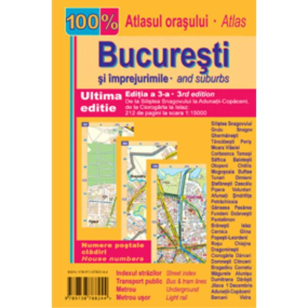 Atlas rutier Bucuresti