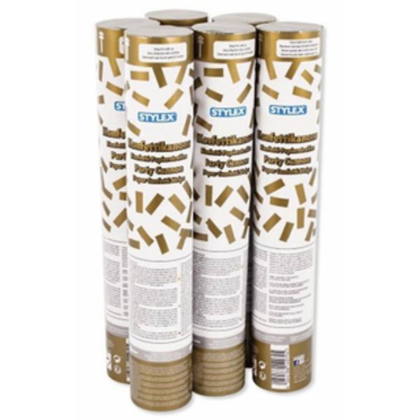Pretul afisat este per bucataCand se roteste partea de jos confetti aurii sunt proiectate in aerProdus destinat exclusiv pentru uzul adultilor A se folosi doar in exterior in afara spatiilor inchise