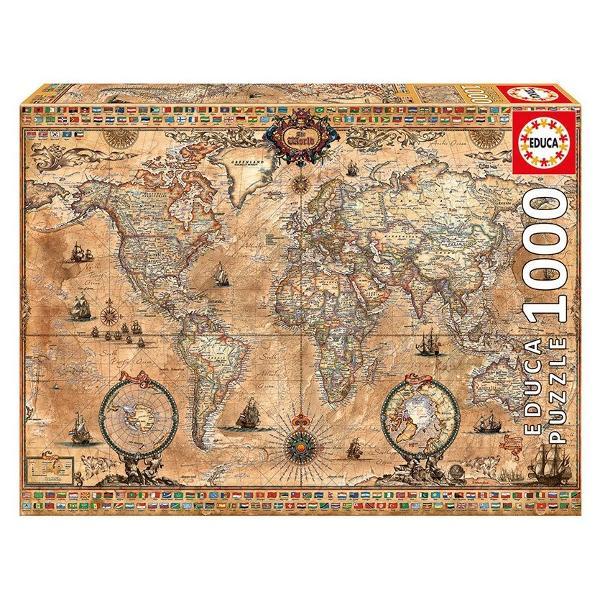 Num&259;r piese 1000 bucVârsta 12 aniDimensiuni puzzle asamblat 68 x 48 cm
