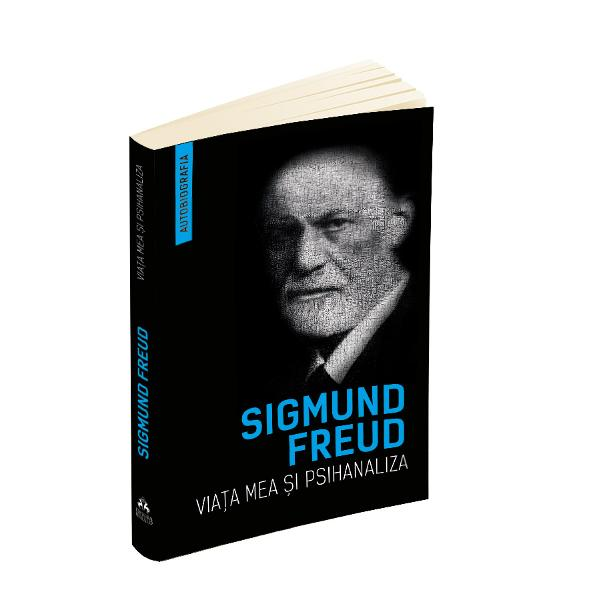 """""""Viata mea si psihanaliza publicata prima data in 1925 este scrisa de Freud in bine-cunoscutul sau stil convingator direct si sincer Pe langa colaborarile si controversele mai mult sau mai putin aprinse avute cu diferite figuri marcante ale psihologiei moderne printre care si CG Jung Freud isi expune propria dezvoltare intelectuala si profesionala ce coincide practic cu nasterea si dezvoltarea conceptelor si a metodei psihanalizei In cuvintele sale scrise in 1935"""