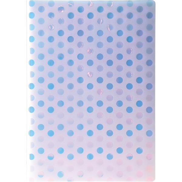 Caiet A4 Freeze PP dictando 40file 80grCoperta PVC transparent cu efect de gheata
