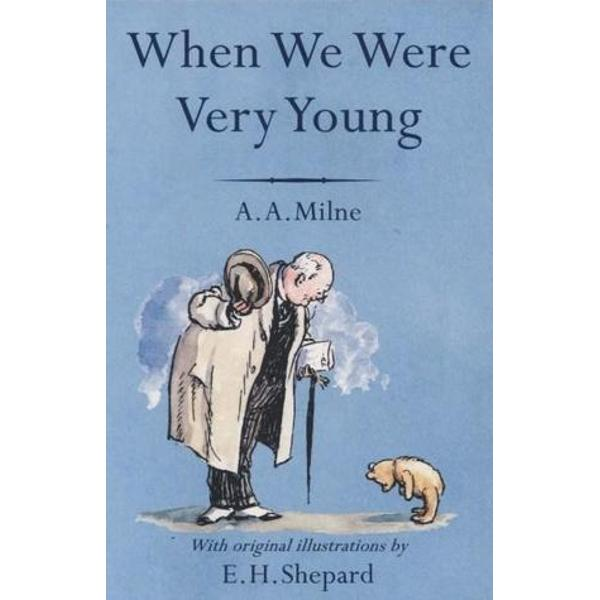 When We Were Very Young is A A Milnes first book of verses for children inspired by the nursery games played with his son Christopher Robin First published in 1924 they are reproduced here alongside E H Shepards classic line drawings which are based on the toys in Christopher Robins nursery