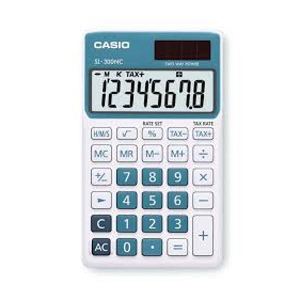 Marca Casio        Culoare Albastru        Tip Calculator De buzunar        Numar digits 8        Numar taste 29