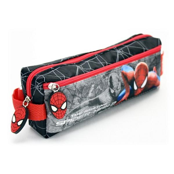Penarul este un accesoriu important in viata unui scolariar daca este si personalizat cu Spider-man va fi si ceva mult doritasa ca achitionandu-l vei reusi sa aduci si bucurie baiatului tau in zilele de scoala    Compartiment Principal Cu Fermoar    Buzunar Frontal Cu Fermoar    Maner Textil    Fermoare Personalizate    Dimensiuni 10x21x5 Cm    Greutate 010 Kg